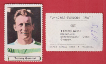 Glasgow Celtic Tommy Gemmell Scotland 480 (D)